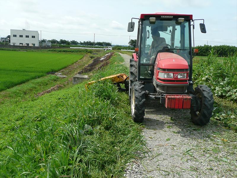 地域の草刈り作業